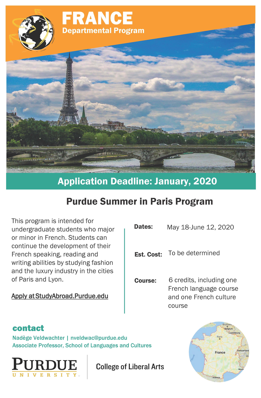 Purdue Spring Break 2020.Cla Departmental Programs Purdue College Of Liberal Arts